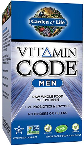 Garden of Life Vitamin Code Men's Multi, 240 Capsules