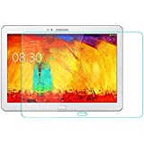 "Boriyuan High Quality Premium Real Tempered Glass Screen Protector for 10.1"" Samsung Galaxy Note 10.1 2014 Edition P600"