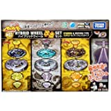 51yMMbKDv1L. SL160  Beyblade Metal Wheel Reshuffle Improve Set Stamina & Defense Type BB 57