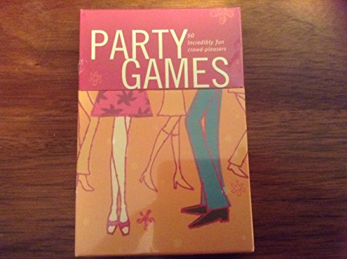 Party Games - 50 Incredibly Fun Crowd Pleasers (50 Cards)