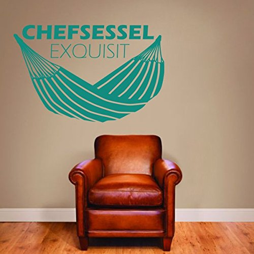 denoda-Chefsessel-exquisit-Wandtattoo-Braun-78-x-50-cm-Wandsticker-Wanddekoration-Wohndeko-Wohnzimmer-Kinderzimmer-Schlafzimmer-Wand-Aufkleber