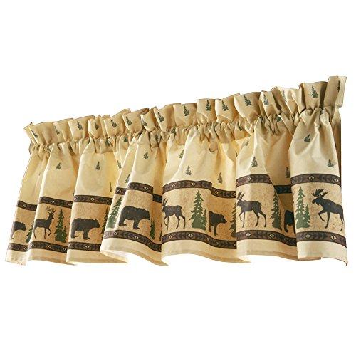 Woodland Curtain Valance (Moose Kitchen Decor compare prices)