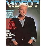 copertina libro Vido 7 n 63   janvier 1987   Spcial fantastique/Johnny Halliday/Festival d Avoriaz/Stephen King/Ken Russel