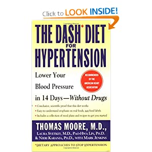 Click to buy Dash Diet Guidelines: The DASH Diet for Hypertension from Amazon!