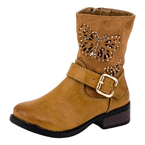 infiniti-girls-boots-brown-size-uk-15