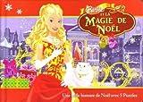 echange, troc Collectif - Barbie et la Magie de Noël - avec 5 Puzzles