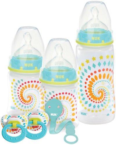 Nuk Confetti Ducks Orthodontic Gift Set, Newborn+ front-3377