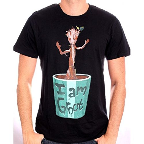 Guardians Of The Galaxy I Am Groot T-Shirt nero XXL