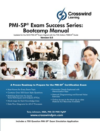 Pmi-Sp Exam Success Series: Bootcamp Manual front-751566