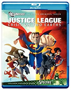 Justice League: Crisis on Two Earths (Amazon Exclusive with Litho Cel) [Blu-ray]