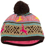 San Diego Hat Co. Girls 2-6x Knit Pom Pom Beanie
