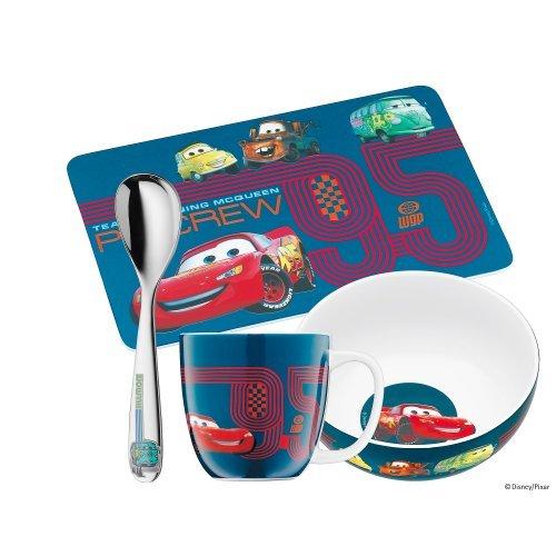 Wmf Children'S Disney Pixar Cars Mealtime Set, 4-Pieces