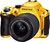 Pentax K-30 SLR Camera - Crystal Yellow (16MP, APS-C CMOS Sensor) 3.0 inch LCD Screen with 18-55mm DAL Lens Kit