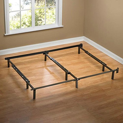 Best Prices! Sleep Revolution Compack Adjustable Steel Bed Frame, Fits Full to King