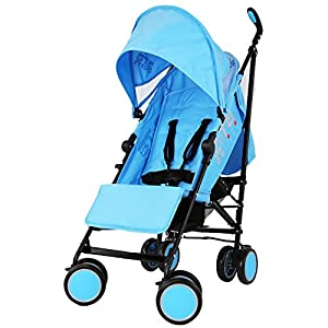 Zeta Citi Stroller Buggy Pushchair - Ocean (Complete With Footmuff + Raincover) from Baby Travel