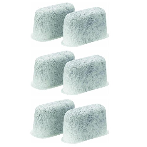 SPREAD - Pack of 6 Premium Charcoal Water Filters Designed for Cuisinart Coffee Makers. (Coffee Pot Filters compare prices)