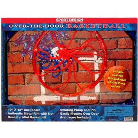 Sport Design Over the Door Basketball--Backboard & Hoop