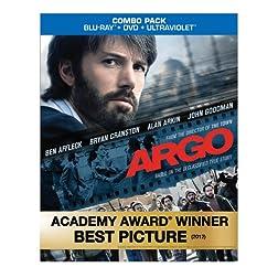 Argo (Blu-ray/DVD Combo+UltraViolet Digital Copy)
