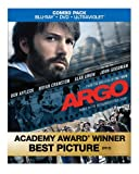 Argo (Blu-ray/DVD Combo+UltraViolet Digital Copy)