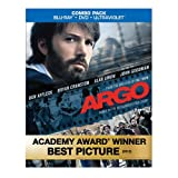 Argo (Blu-ray/DVD Combo+UltraViolet Digital Copy) ~ Ben Affleck