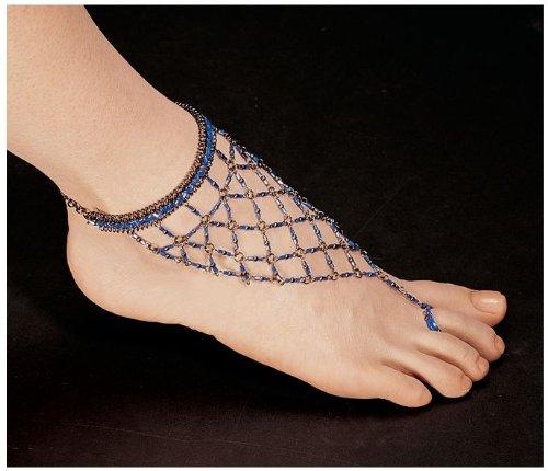 Egyptian Blue Nile Isis Slave Anklet/Slave Ankle