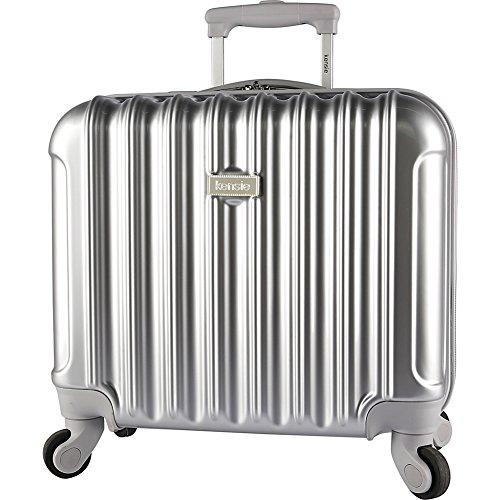 kensie-luggage-17-rolling-briefcase-silver