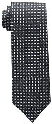 Tommy Hilfiger Men\'s Core Neat II Tie, Black, One Size