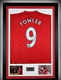 Hand Signed Robbie Fowler Liverpool Fc Framed Shirt -Legend- England + Coa + ...