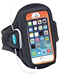 Armband for iPhone 5, iPhone 5s and iPhone 5c with OtterBox Defender Series Cases, (Also fits Large Protective Cases for iPhone 4S / 4 and more)