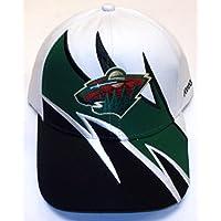 NHL Minnesota Wild Adjustable Velcro Strap Reebok Hat - Osfa