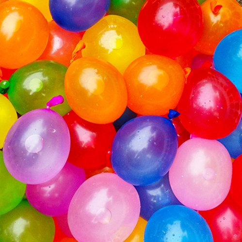 Mylife Multi Colored - Flexible Latex Rubber (100 Count Pack - Standard Size) Water Bomb Grenade Balloons (Great For Summer Birthday Parties)