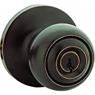 Steel Pro Entry Lockset-ORB CP BALL ENTRY LOCK