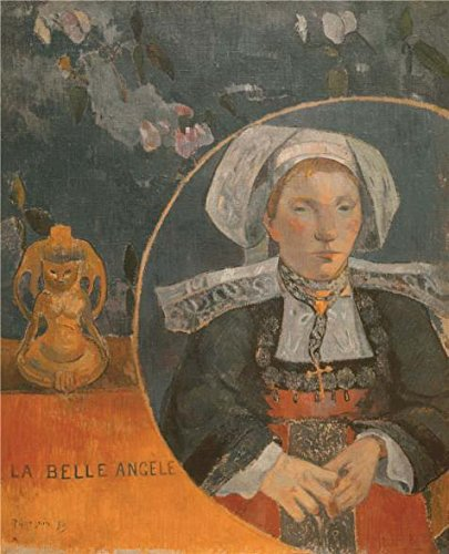 Oil Painting 'The Beautiful Angel (Madame Angele Satre, The Innkeeper At Pont-Aven), 1889', 24 x 30 inch / 61 x 75 cm , on High Definition HD canvas prints, Basement, Hallway And Study Room Decoration (Red Hood Poster Dc compare prices)