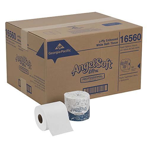 Angel Soft Ultra Professional Series 2 Ply Embossed Toilet
