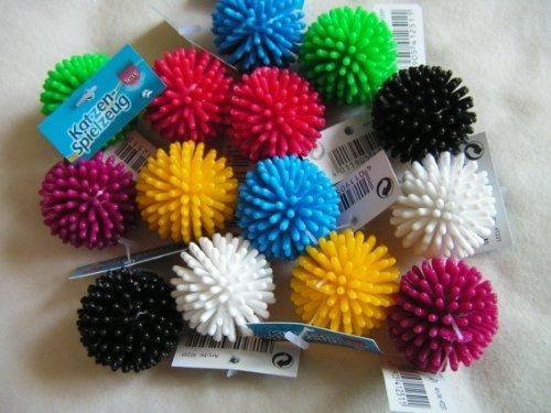 My Pet 10 X Small Spikey Cat Ball Toys