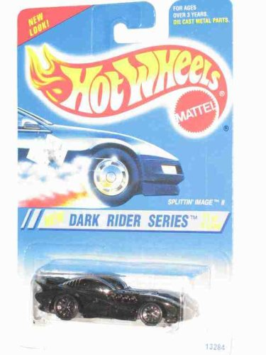 Dark Rider Series #1 Splittin Image 2 6-Spoke Wheels #297 Collectible Collector Car Mattel Hot Wheels