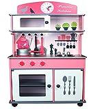 Cuisine-en-Bois-pour-Enfants-Jeu-du-Rle-W10C026-Rose