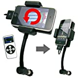 iPhone/iPod用FMトランスミッター リモコン付き 周波数日本仕様:ALLKIT2