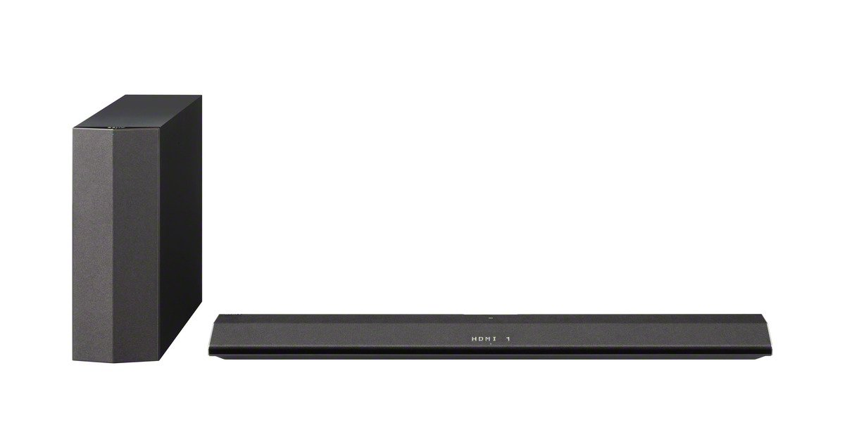 Sony HT-CT370 2.1 Channel 300W Sound Bar with Wireless Subwoofer, Bluetooth, and NFC