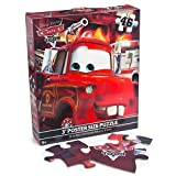 Disney Pixar Cars 46 Piece Poster Size Floor Puzzle 36x24