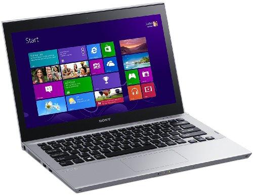 Sony Vaio SVT1312M1E, Processore Intel Core i3, 1.8 GHz, 13.3 Pollici, HDD 500 GB, RAM 4 GB, Colore Argento