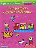 Tout premiers exercices d'écriture maternelle moyenne section