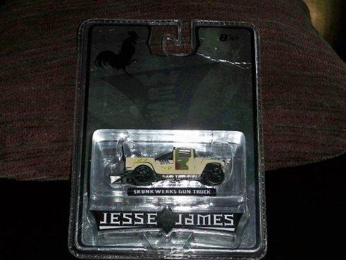 Jesse James West Coast Chopper Skunkwerks Gun Truck Diecast