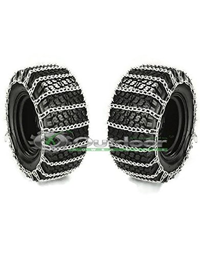 Fantastic Deal! OPD Tire Chains Mud Snow 20X10X8,20X10X10 2 Link Spacing