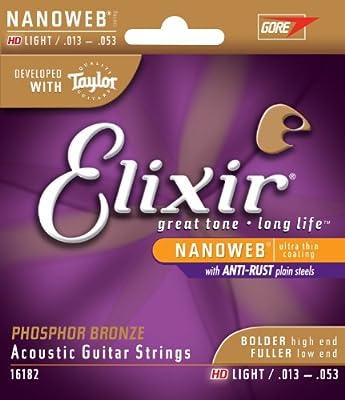 Elixir 16182 Acoustic Guitar Strings