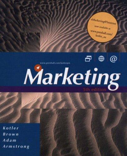 Marketing B/cd (Australian)