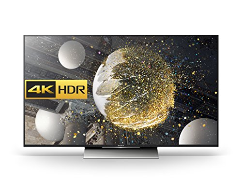 Sony Bravia KD55XD8005 55 inch Android 4K HDR Ultra HD Smart TV with TRILUMINOS Display, PlayStation Now and Google Cast (2016 Model) - Black