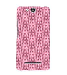 Heart Symbols 3D Hard Polycarbonate Designer Back Case Cover for MicromaxBoltQ338