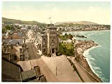 Photographic Print of Victorian Photochrom East Bay, Dunoon, Scotland