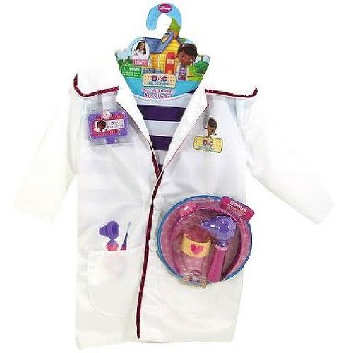 DISNEY DOC MCSTUFFINS DOCTORS COAT & BONUS ACCESSORIES CHILDS COSTUME!